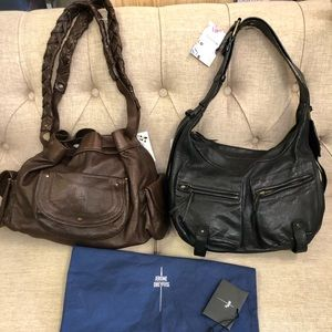 Bundled a lot of two Jerome Dreyfuss handbags